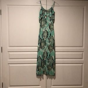 Tart small teal dress